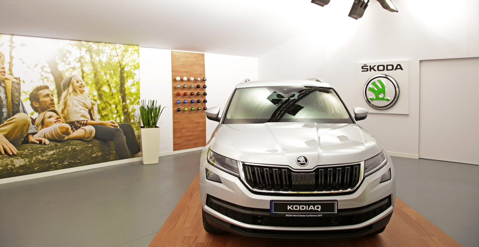 Skoda concesionario virtual showroom